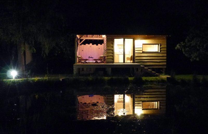 Le bain de campagne cabane et spa privé
