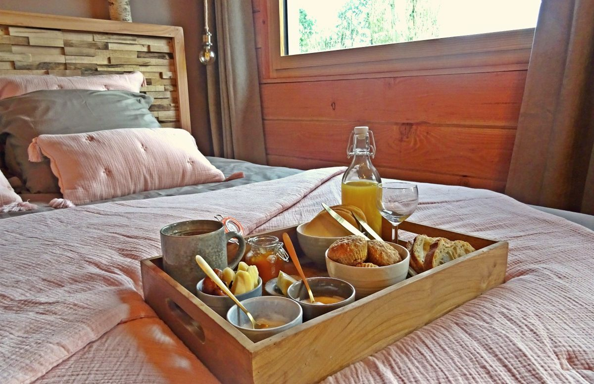 Plateau petit déjeuner Le bain de campagne